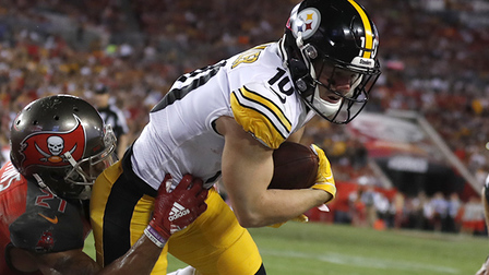 0964cd8dc Ryan Switzer toe taps for first TD with Steelers - NFL Videos