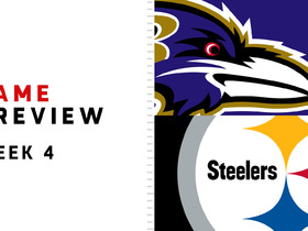 Watch: Ravens vs. Steelers | Week 4 preview