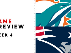 Watch: Dolphins vs. Patriots | Week 4 preview