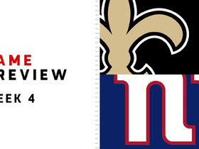 Watch: Saints vs. Giants | Week 4 Preview