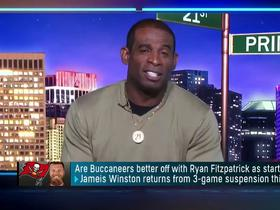 Watch: Deion Sanders: Bucs better off with Fitzpatrick in the short term