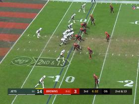 Watch: Denzel Ward rips ball away from Robby Anderson | True View