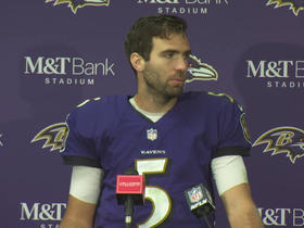 Watch: Burleson: Ravens' red zone offense has been perfect in 2018