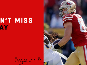 Watch: Can't-Miss Play: Kittle can't be caught on 82-yard TD