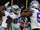 Watch: Anthony Brown knocks out ball, Cowboys recover fumble