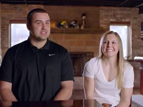 Watch: A relationship between two star athletes | NFL Films Presents