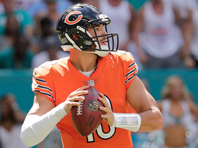 Watch: Trubisky fires a laser to Robinson for a 12-yard TD catch