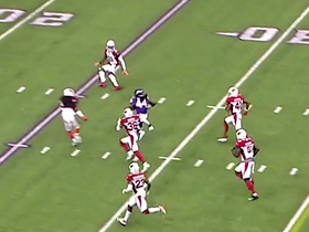 Watch: Boone shows off his wheels on 20-yard rush