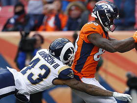 Watch: Thomas drags toe to complete impressive TD catch