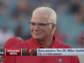 Watch: Rapoport: Mike Smith out after 'rollercoaster' tenure as Bucs DC