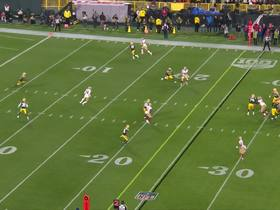 Watch: Kendrick Bourne breaks Clinton-Dix's tackle rolling into red zone