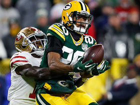 Watch: Kevin King turns around at last second for big-time INT