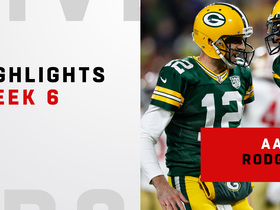 Watch: Aaron Rodgers' best plays | Week 6