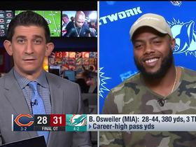 Watch: T.J. McDonald on Osweiler starting: 'We didn't know until game time'