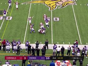 Watch: Watch Tre Boston lay out to pick off Cousins | True View