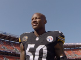 Watch: Shazier returns to Cincinnati for the first time since injury