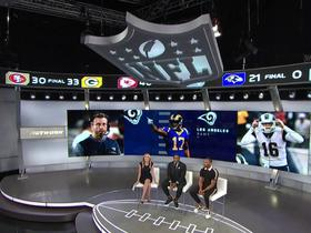 Watch: Woods on Rams' unbeaten start: 'I think we're playing at that Super Bowl level'