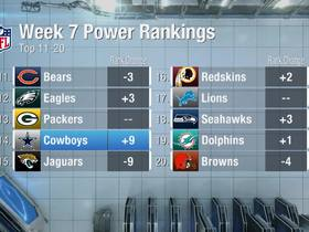 Watch: Cowboys rise nine spots  in Week 7 | Power Rankings