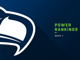 Watch: Seahawks rise three spots in Week 7 | Power Rankings