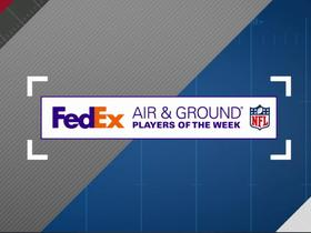 Watch: FedEx Air & Ground Players of Week 6 nominees