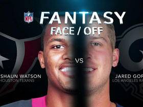 Watch: Better fantasy option in Week 7: Deshaun Watson or Jared Goff?