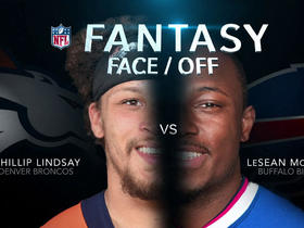 Watch: Better fantasy option in Week 7: Phillip Lindsay or LeSean McCoy?