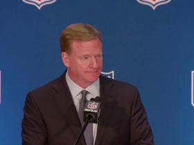 Watch: Goodell addresses current conversations about national anthem policies