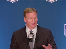 Watch: Goodell: No update on where Raiders will play in 2019