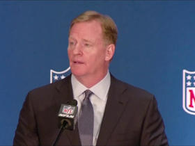 Watch: Goodell: Haven't had any discussions on future of Seahawks