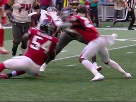 Watch: Peyton Barber runs through defender for first down