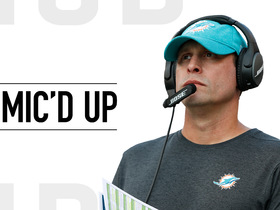 Watch: Mic'd Up: Adam Gase stays calm and focused in Dolphins victory | Week 6
