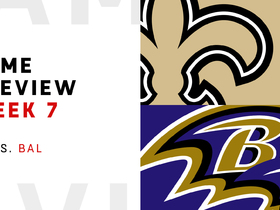 Watch: Saints vs. Ravens Week 7 preview | NFL Playbook