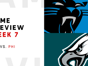 Watch: Panthers vs. Eagles Week 7 preview | NFL Playbook