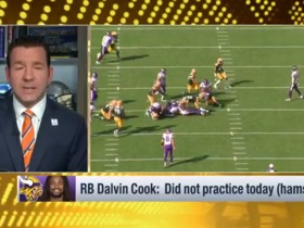 Watch: Rapoport: 'Not a good sign' for Dalvin Cook after sitting out of practice Thursday