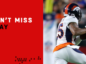 Watch: Can't-Miss Play: Another one! Harris Jr. gets Broncos' second pick-six of quarter
