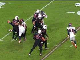 Watch: Zach Kerr pushes through line to sack Rosen