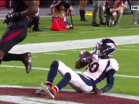 Watch: Emmanuel Sanders gets separation for HUGE 64-yard TD