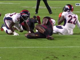 Watch: Von forces bowling-ball fumble to DeMarcus Walker