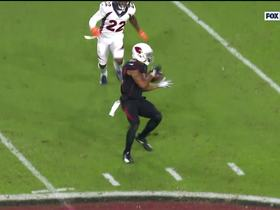 Watch: Josh Rosen unleashes dart to Christian Kirk for 21 yards