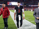 Watch: Josh Rosen jogs off field with injury after sack