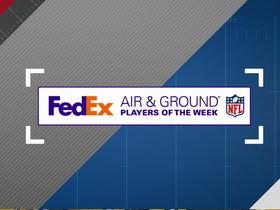 Watch: FedEx Air and Ground Players of the Week | Week 6