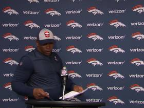 Watch: Broncos postgame press conference