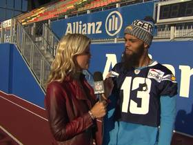 Watch: Keenan Allen on London game: 'Our confidence is high right now'