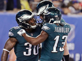 Watch: Pelissero: The Eagles are building chemistry through film sessions