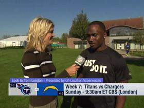 Watch: Dion Lewis gives his outlook of Titans' 2018 London Game