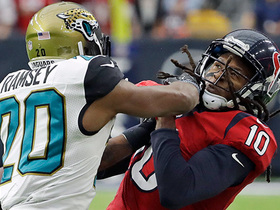 Watch: Who has the edge today: Jalen Ramsey or DeAndre Hopkins?