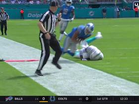 Watch: Matthew Stafford fires a dart to T.J. Jones for 26-yard catch