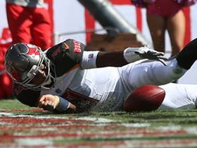 Watch: Jameis Winston uses pump fake to clear way for 14-yard TD