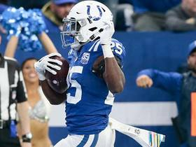 Watch: Marlon Mack zips down the field for 23-yard gain