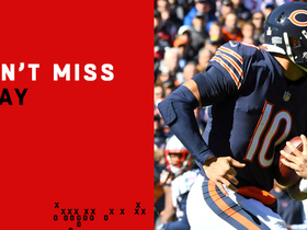 Watch: Can't-Miss Play: Trubisky enters SLO-MO on 39-yard run
